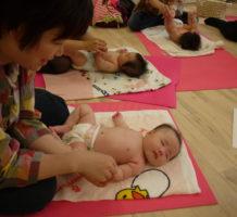 5月の離乳食クラス、6月のベビーマッサー